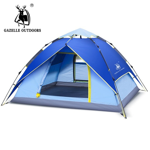 Automatic Hydraulic Double Layer Tent