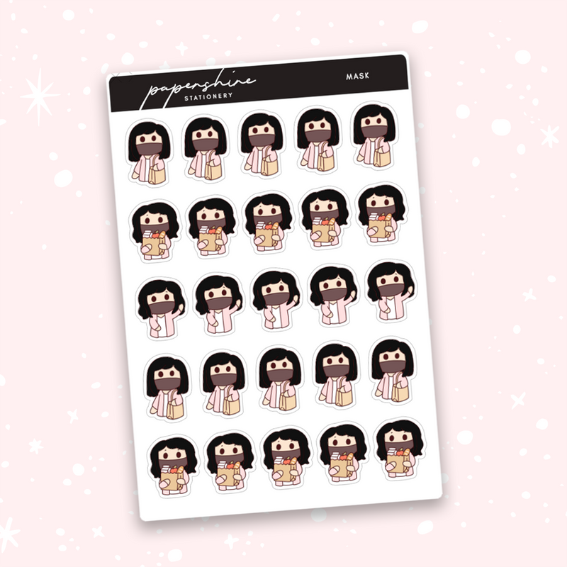 Mask Nana Stickers
