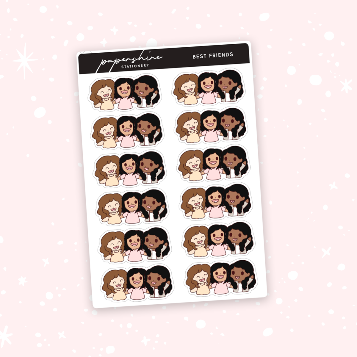 Best Friends Nana Stickers