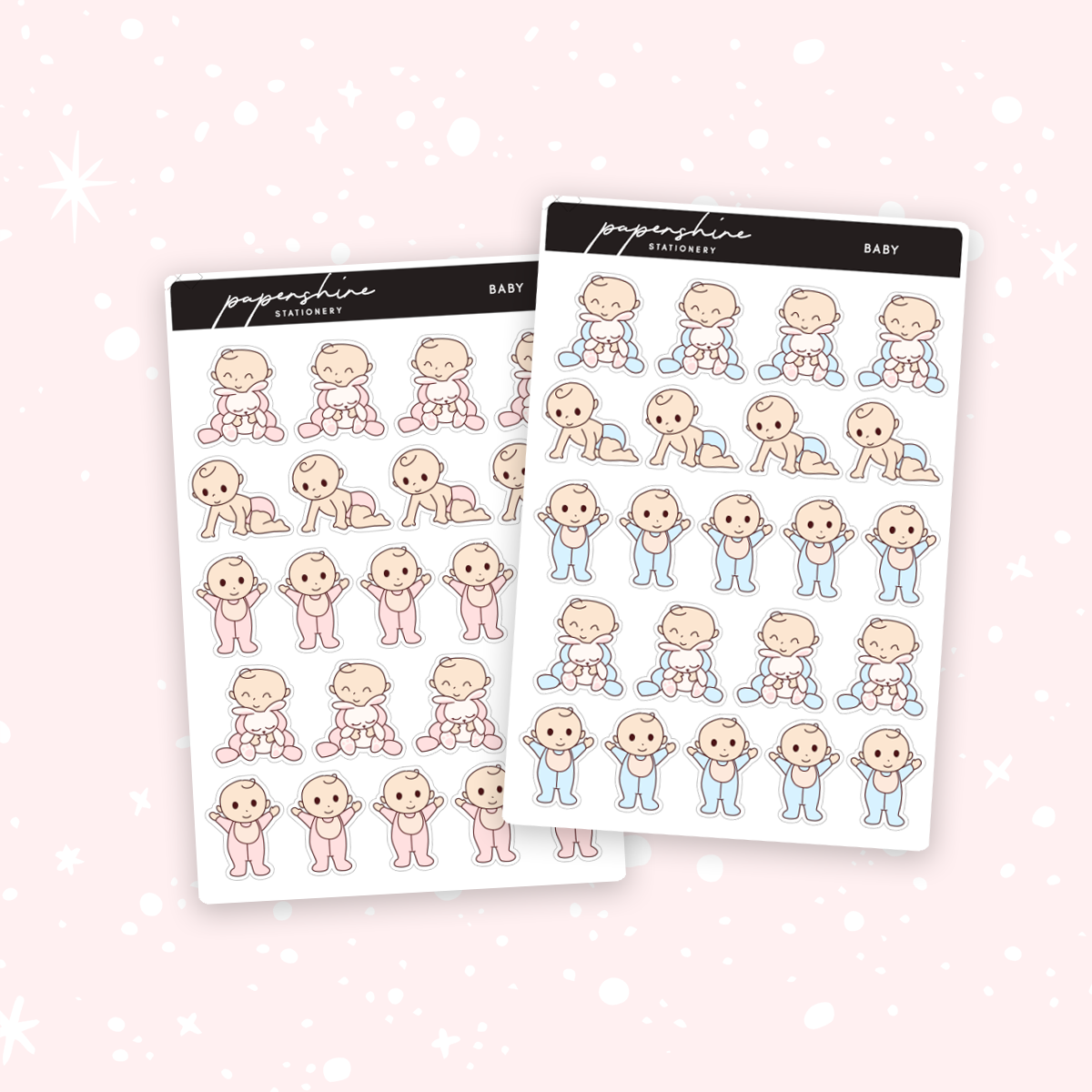 Baby Nana Stickers