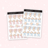 Sleeping Baby Nana Stickers