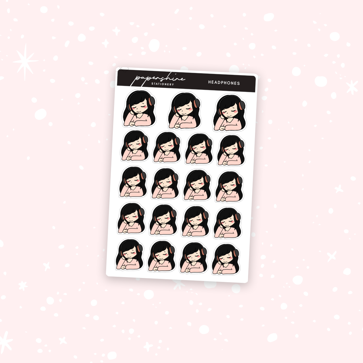 Headphones Nana Stickers