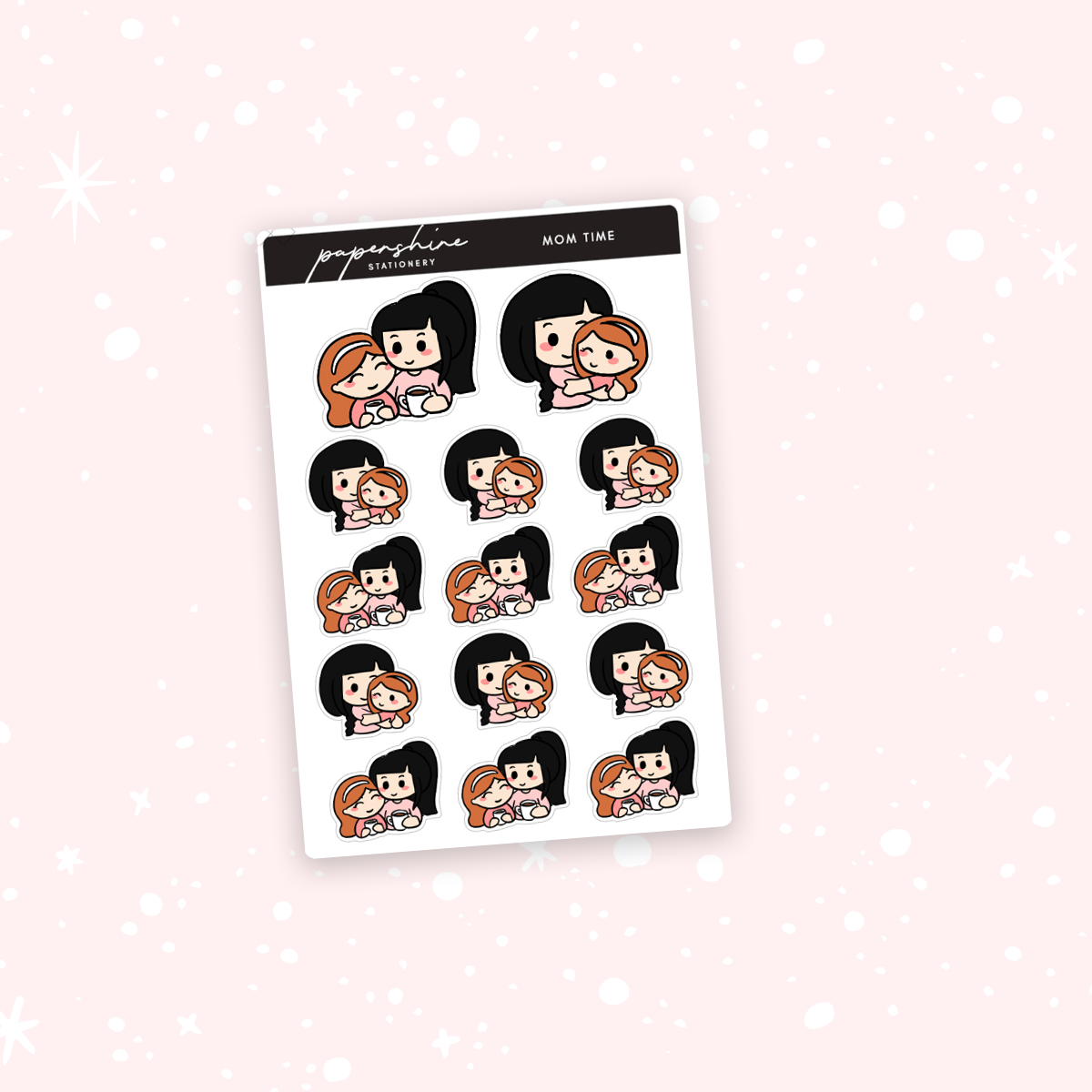 Mom Time Nana Stickers