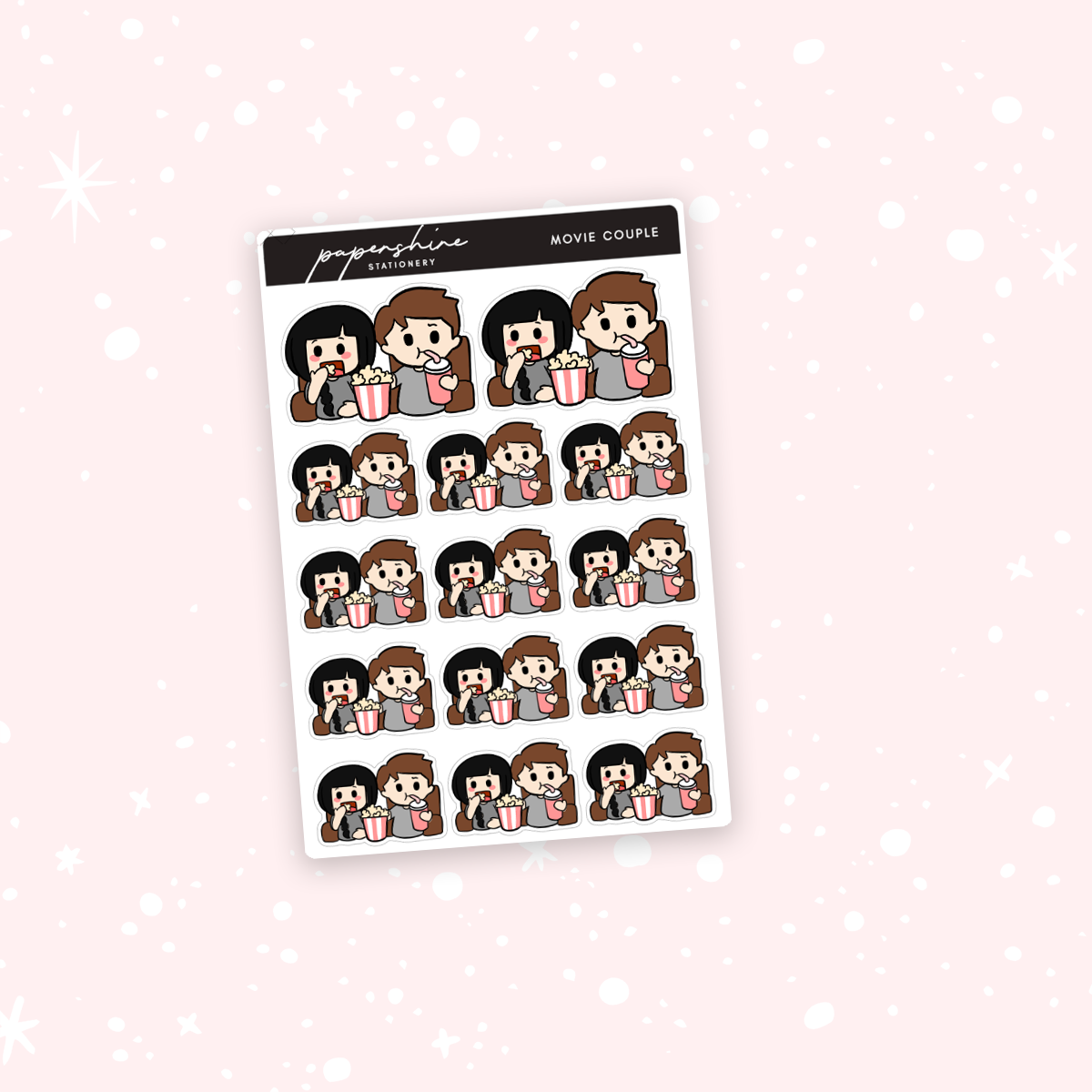 Movie Couple Nana Stickers