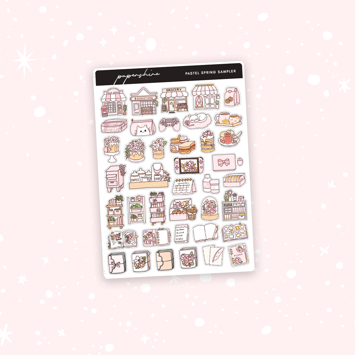 Pastel Spring Sampler Stickers