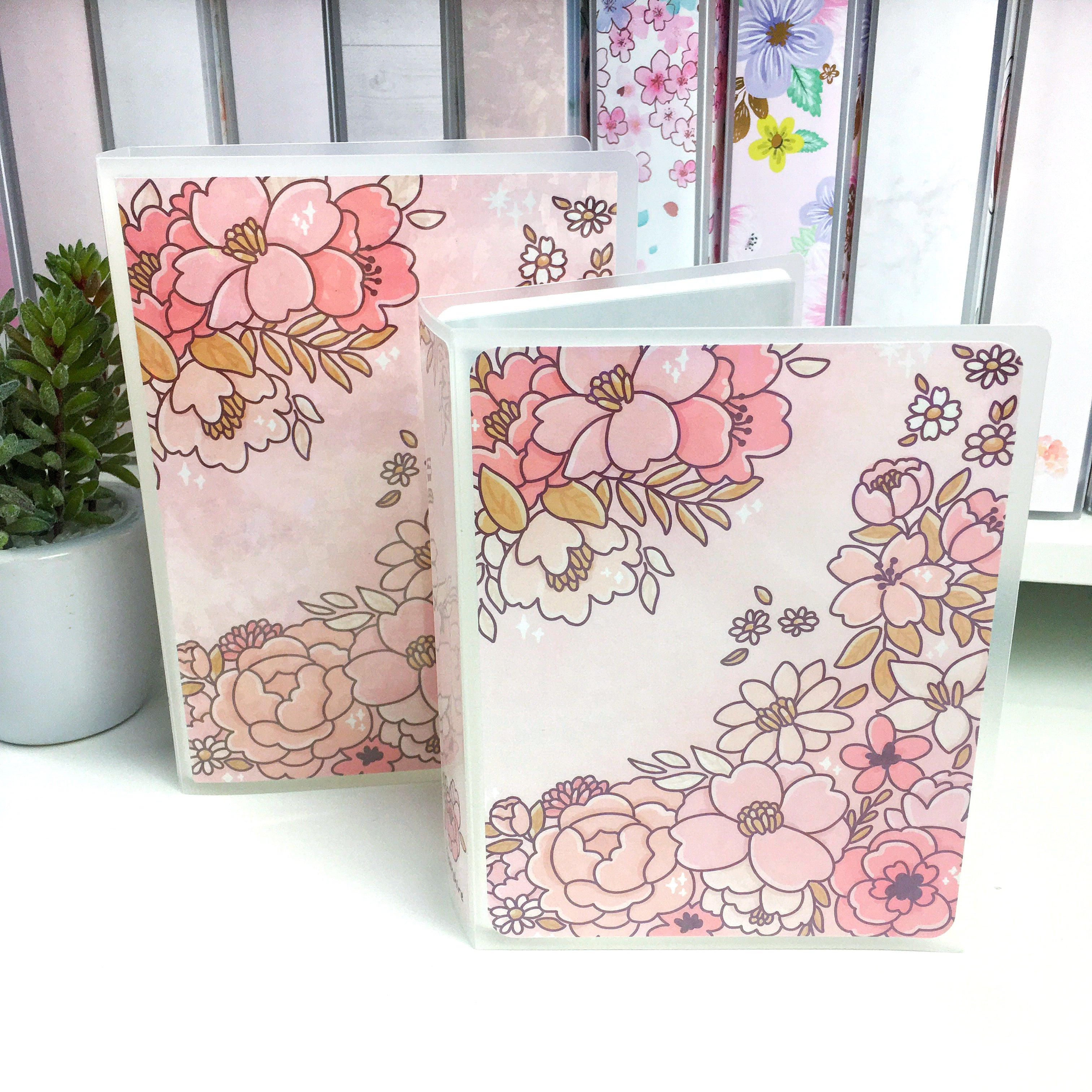 Sorbet Floral Sticker Album