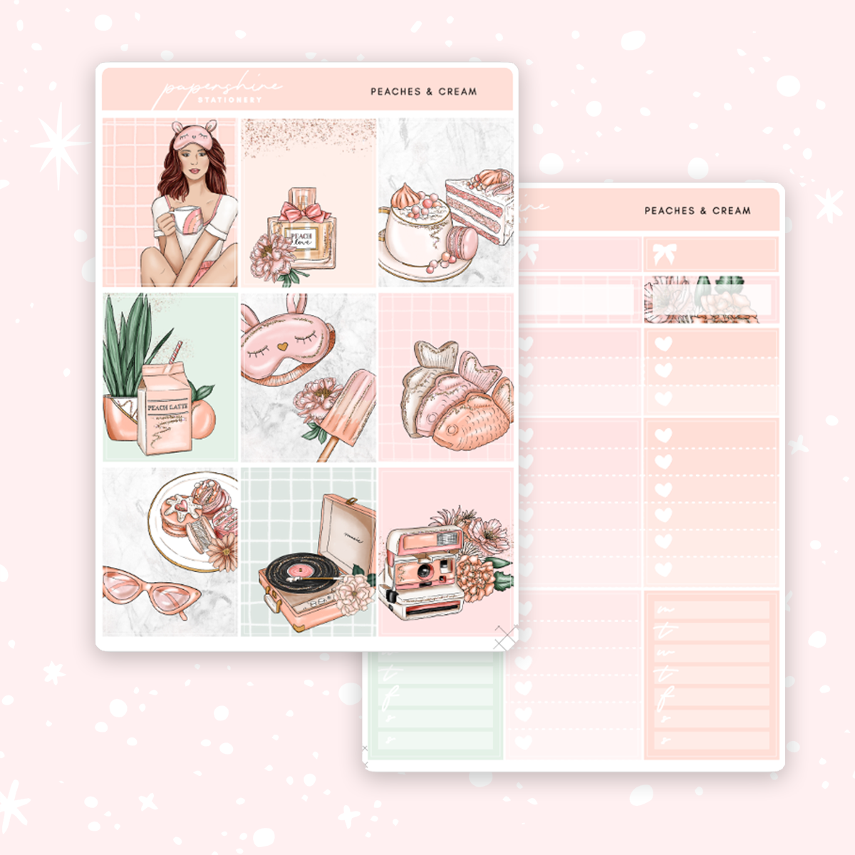Peaches & Cream Weekly Kit