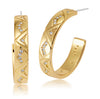 Holiday gift ideas for women gold diamond earrings on sale