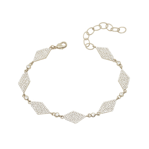 best friend bracelet for women pave diamond