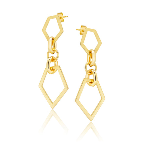 Poly StarDance Drop Earrings