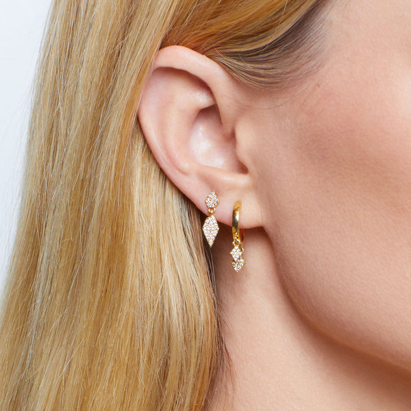 Pavé StarDance Shaker Studs *PREORDER! (Shipping begins 11/29)