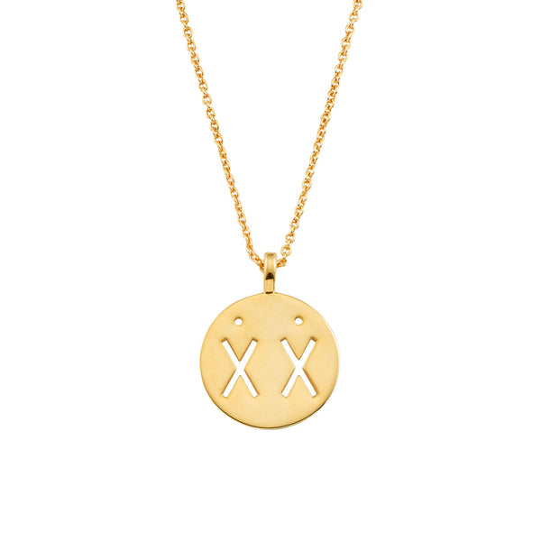 Gold Best Friend Necklace | Ambyr Childers