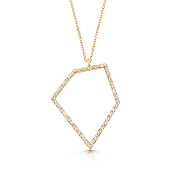 Stardance Pave Necklace
