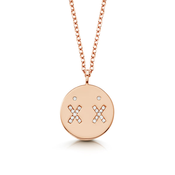 Rose Gold Best Friend Necklace | Ambyr Childers