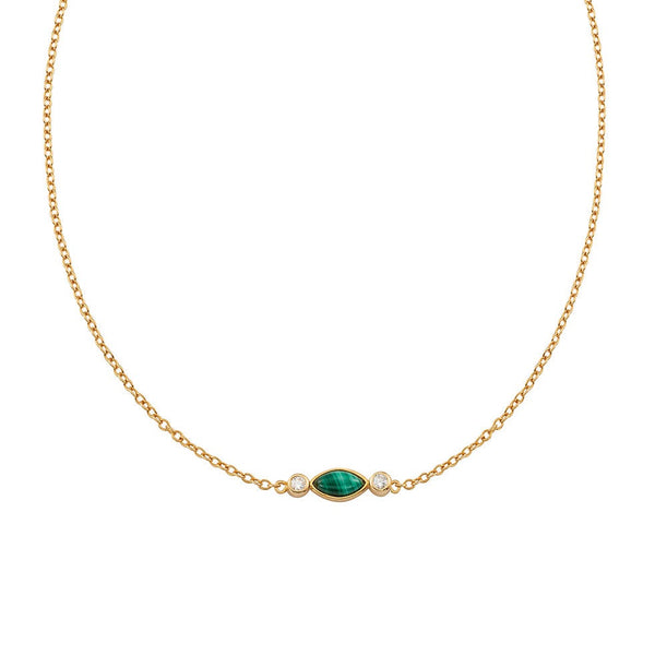 Malachite Eclipse Choker