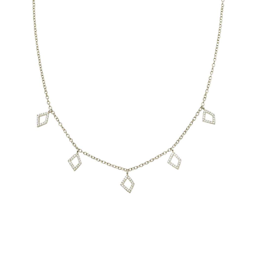White Gold necklace for women | Ambyr Childers