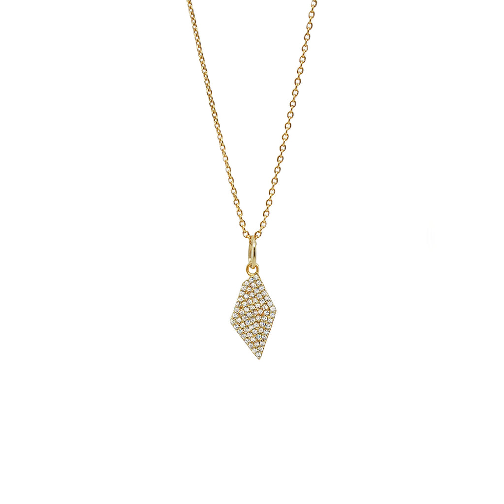 Diamond Star Pendant gold jewelry for women  | Ambyr Childers