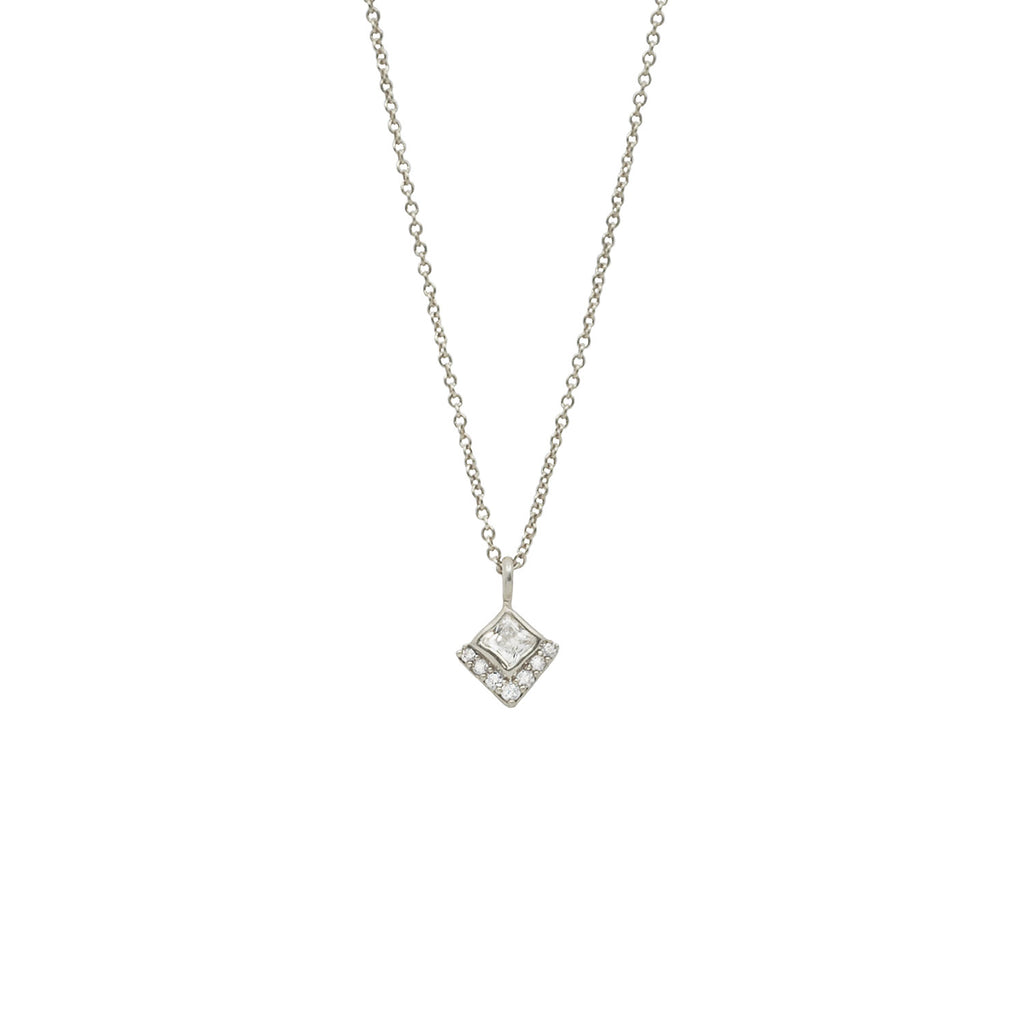 Kaya Diamond Necklace Ambyr childers jewelry fall accessory unique necklace for women