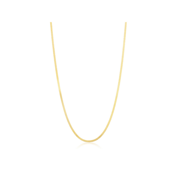 Classic gold necklace for women 1920s style
