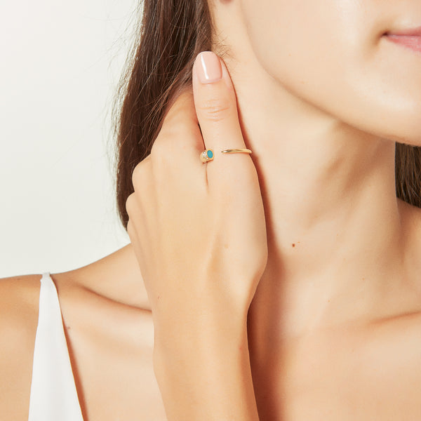 Horn Cuff Ring