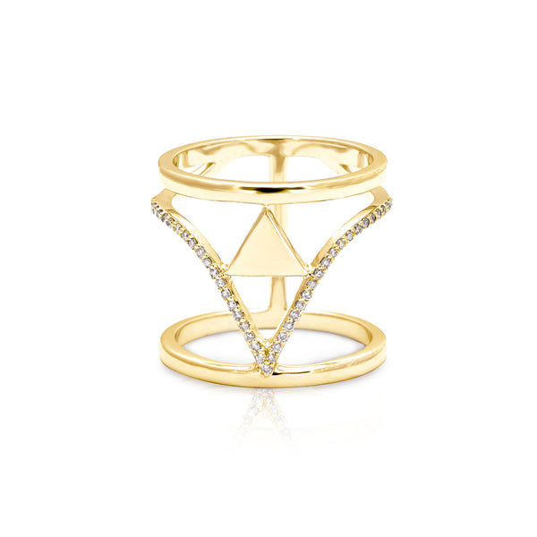 Naki Arrow Ring