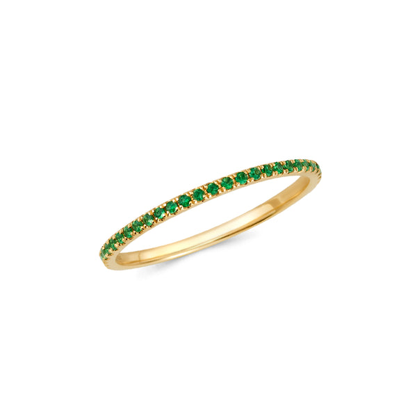 Tsavorite Eternity Band