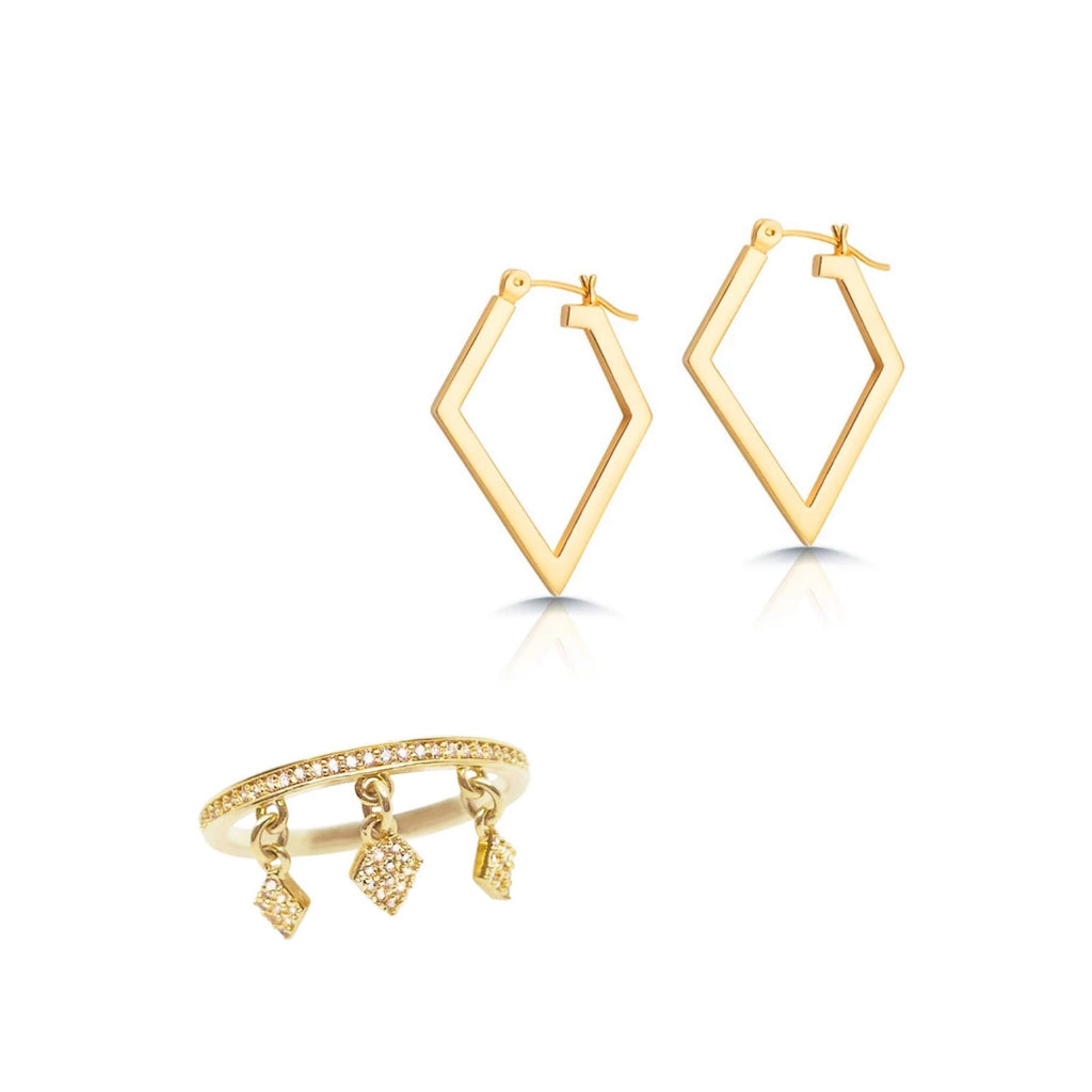 Gold jewelry for women London bundle set jewelry