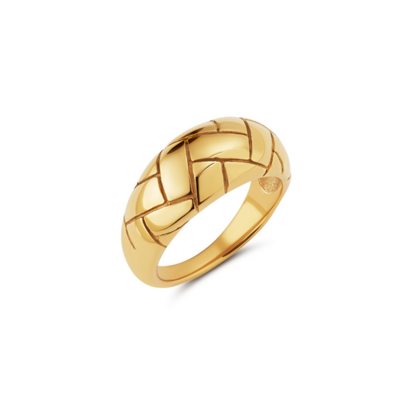 Botanical Bamboo Ring