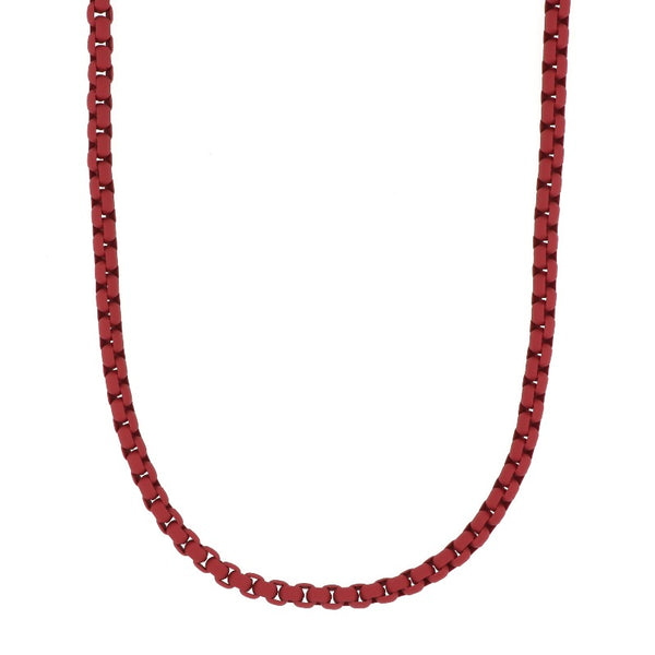 Lit red necklace - Goyatè