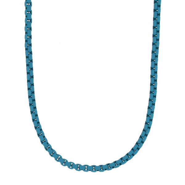 Lit blue necklace - Goyatè