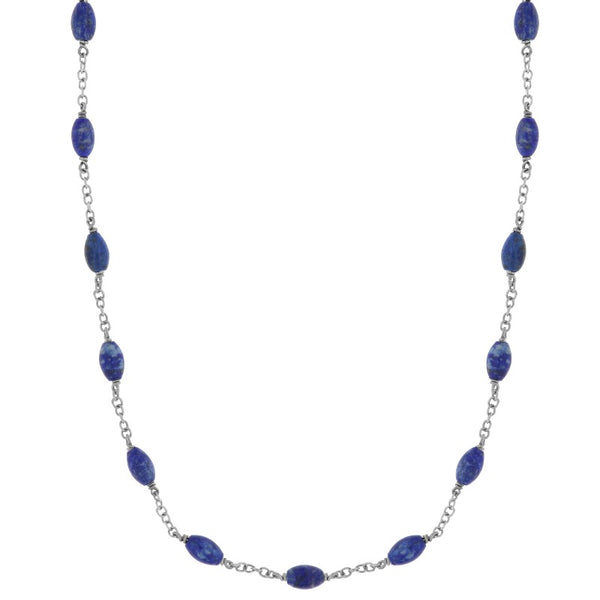 Liger blue necklace