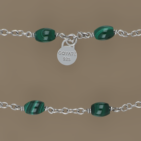 Liger green necklace