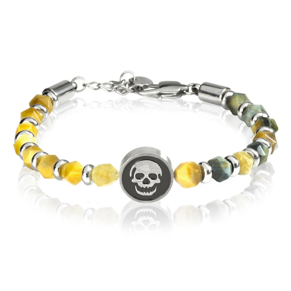 Grind skull tiger yellow - Goyatè