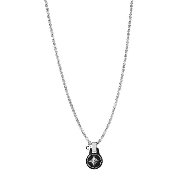 Irwin windrose necklace black - Goyatè