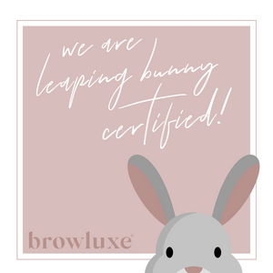 We're Leaping Bunny Certified!