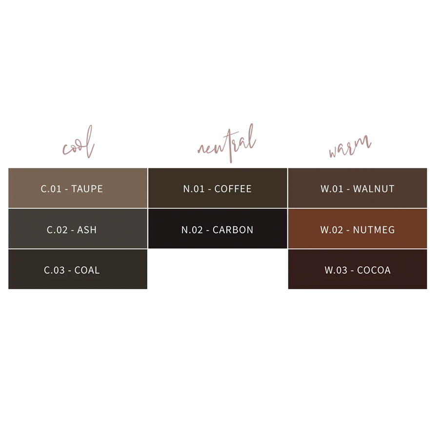The browluxe® Artist Collection