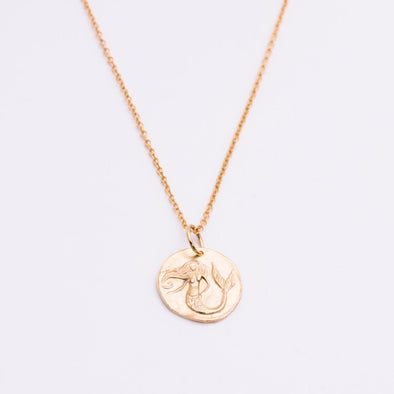 La Sirena Coin Necklace