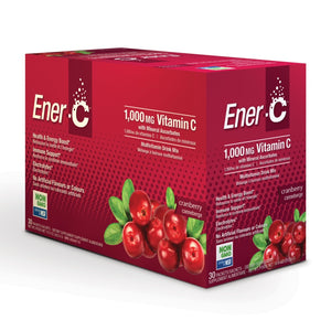 Ener-C Cranberry Multivitamin Drink Mix – 30 Packet Box