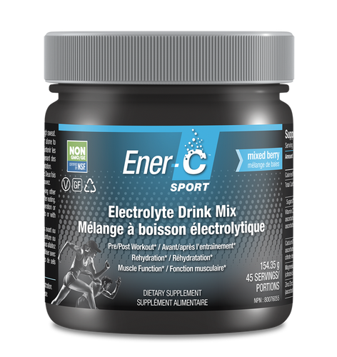Ener-C Sport - Electrolyte Drink Mix - Berry (Tub)