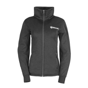 sync-performance-black-women's-training-jacket-fleece-front
