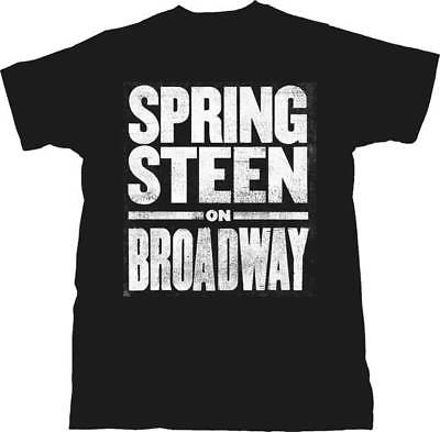 Bruce Springsteen Bruce on Broadway Licensed Adult T Shirt