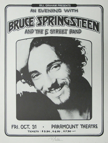 Vintage Music Poster Art - Bruce Springsteen