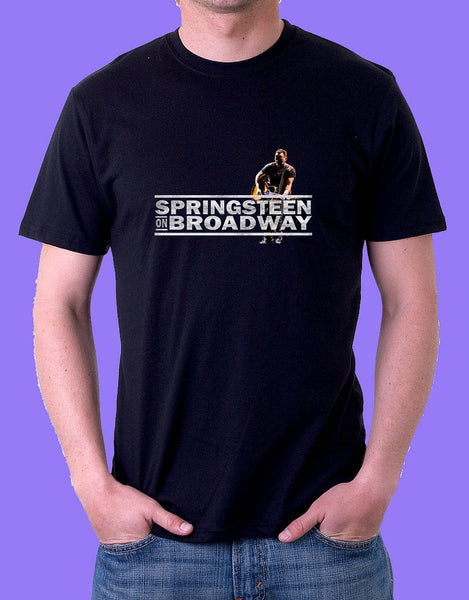 Bruce Springsteen on Broadway Black T Shirt