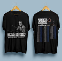 New Springsteen On Broadway Walter Kerr Theatre Schedule 2018 T Shirt