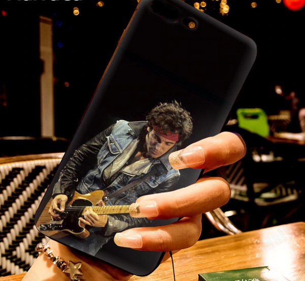 Bruce Springsteen Epic Black iPhone Phone Case