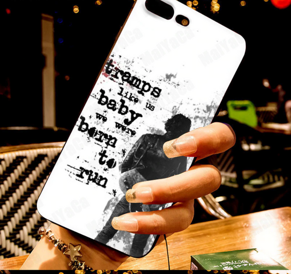 Born to Run lyrics iPhone Phone Case