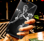 Bruce Springsteen 1979 Guitar Black iPhone Phone Case