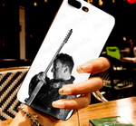 White Bruce Springsteen Guitar Phone Case