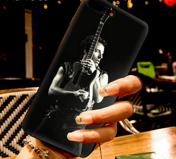 Always THE BOSS - Bruce Springsteen Black iPhone Phone Case