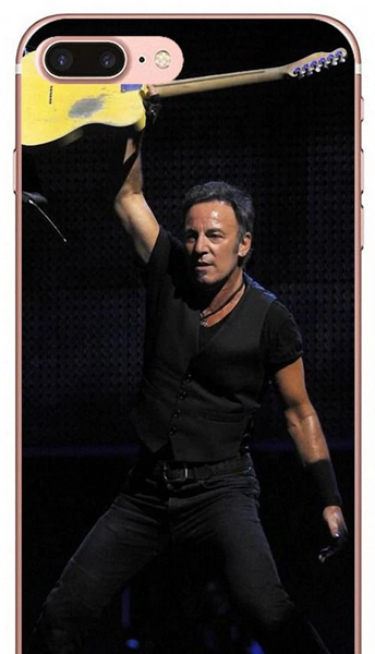 Triumphant Bruce Springsteen Live Black Phone Case iPhone